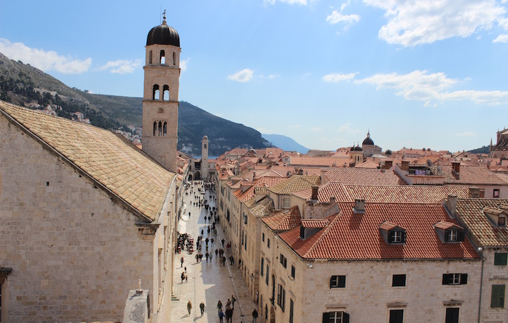 Centre of Dubrovnik. Copyright Gretta Schifano