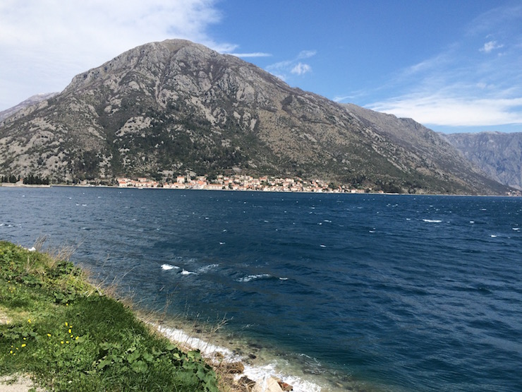 Driving to Kotor, Montenegro. Copyright Gretta Schifano