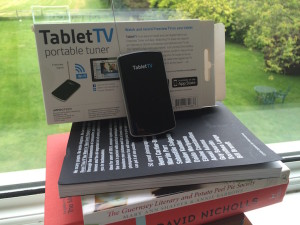 Getting a Freeview signal with the TabletTV tuner. Copyright Gretta Schifano