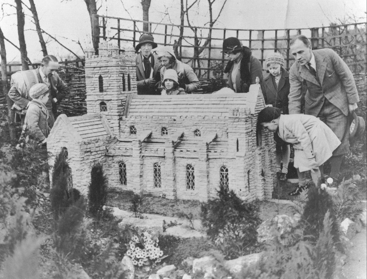 Minster Church, Bekonscot Model Village,1932. Copyright Bekonscot Model Village