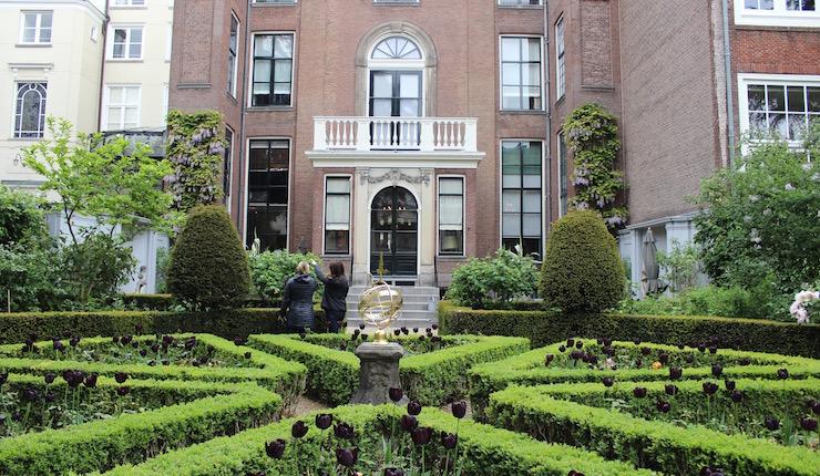 Van Loon Museum garden, Amsterdam. Copyright Gretta Schifano