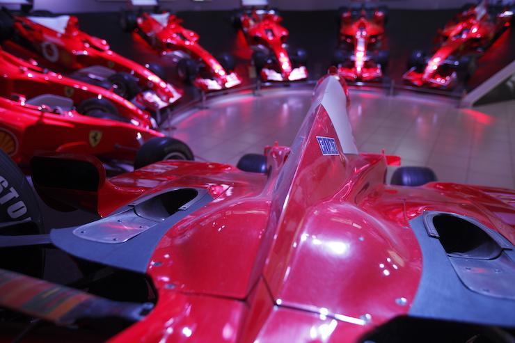 Ferrari Museum, Maranello. Image courtesy of Emila-Romagna tourism