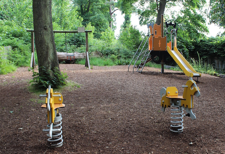 Hever Castle Adventure Playground. Copyright Gretta Schifano