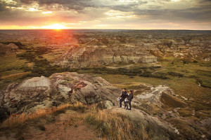 Horseshoe Canyon near Drumheller, Alberta. Image courtesy of Visit Alberta.