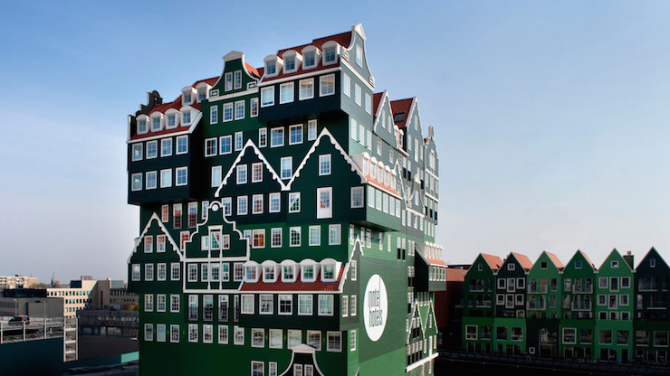 Inntel hotel, Zaandam, Holland. Image courtesy of Inntel.