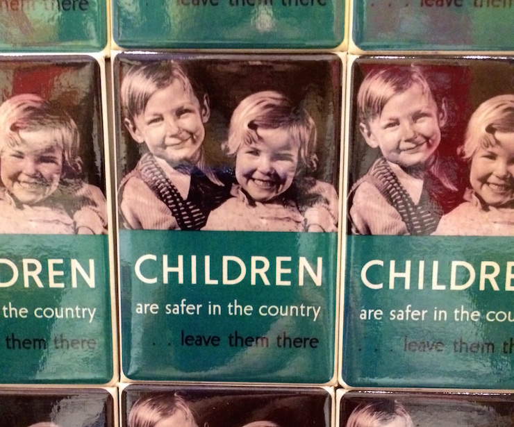 Magnets on sale at IWM London. Image by Gretta Schifano