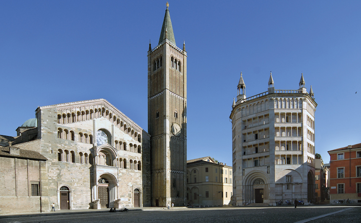 Parma - Piazza Duomo. Image courtesy of Emilia Romagna tourism