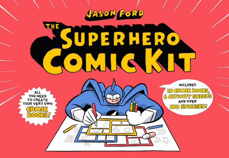 Superhero Comic Kit. Image courtesy of Laurence King Publishing