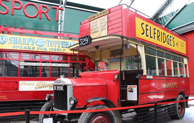 The London Bus Museum. Copyright Gretta Schifano
