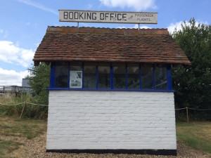 World's first flight ticket office, Brooklands. Copyright Gretta Schifano
