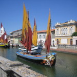 Historic harbour at Cesenatico. Copyright Barbaradel