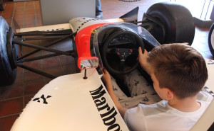 F1 car, Brooklands. Copyright Gretta Schifano