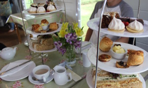 Afternoon High tea at Mama Feelgoods, Quex Park. Copyright Gretta Schifano