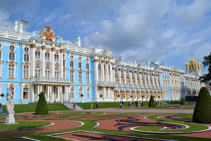 Catherine Palace, Pushkin, St Petersburg. Copyright Annabel Buxton