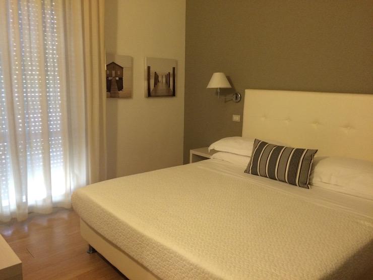 Double room at Hotel Tiffany. Copyright Gretta Schifano