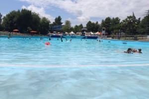 Main wave pool at Aquafan. Copyright Gretta Schifano