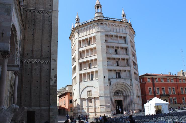 Parma Baptistry. Copyright Gretta Schifano