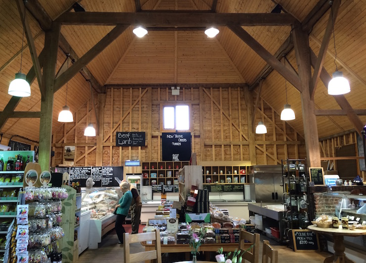 Quex Barn Farm Shop. Copyright Gretta Schifano