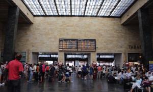 Santa Maria Novella station, Florence, Italy. Copyright Gretta Schifano