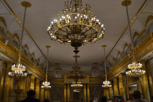 The Winter Palace Hermitage Museum, St Petersburg. Copyright Annabel Buxton