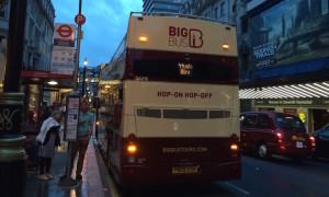 Big Bus Tour London. Copyright Gretta Schifano