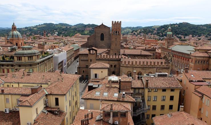 Bologna rooftops. Copyright Gretta Schifano