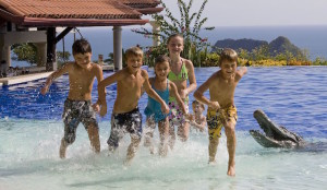 Children at main pool, Parador Resort & Spa. Image courtesy of Parador Resort & Spa