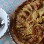 Expedia French World on a Plate Challenge: Tarte aux Pommes à la crème. Copyright Gretta Schifano