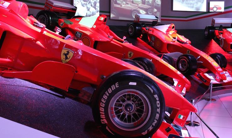 Ferrari Museum, Emilia-Romagna. Copyright Gretta Schifano