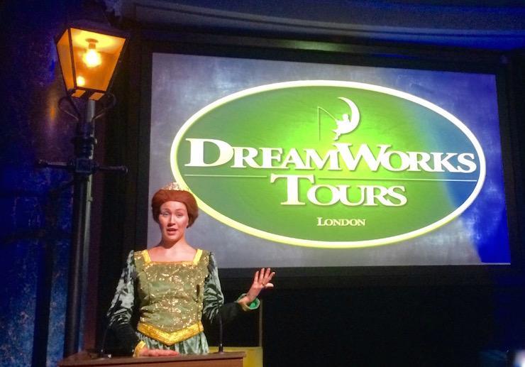 Princess Fiona, Shrek's Adventure London. Copyright Gretta Schifano