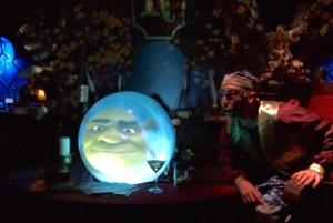 Scene from Shrek's Adventure London, copyright Gretta Schifano