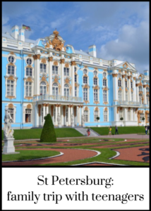 Ideas for things to see and do in the city of St Petersburg, Russia, for families with teenagers. Click through for the full article with recommendations for where to stay and how to visit the historic sites. #familytravel #Russia