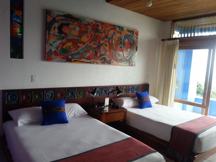 Bedroom, Xandari Resort, Costa Rica. Copyright Lorenza Bacino