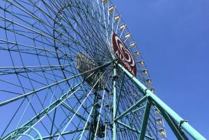 Big wheel at Mirabilandia. Copyright Gretta Schifano