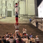 Marrecs de Salt human tower rehearsal 2, Girona. Copyright Sal Schifano