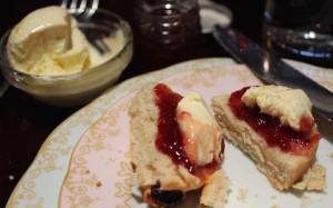 Scone, jam & cream at the Reform Social & Grill. Copyright Gretta Schifano
