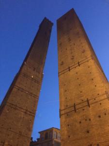 Two Towers, Bologna. Copyright Gretta Schifano