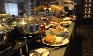 Executive Lounge breakfast, Amba Hotel. Copyright Gretta Schifano