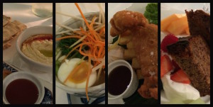 Our dinner at Four Seasons Canary Wharf. Copyright Gretta Schifano