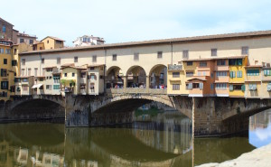 Ponte Vecchio, Florence. Copyright Gretta Schifano