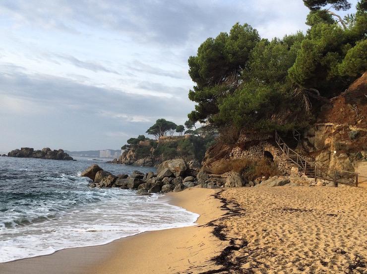 Beach at Hotel Silken Park San Jorge. Copyright Gretta Schifano