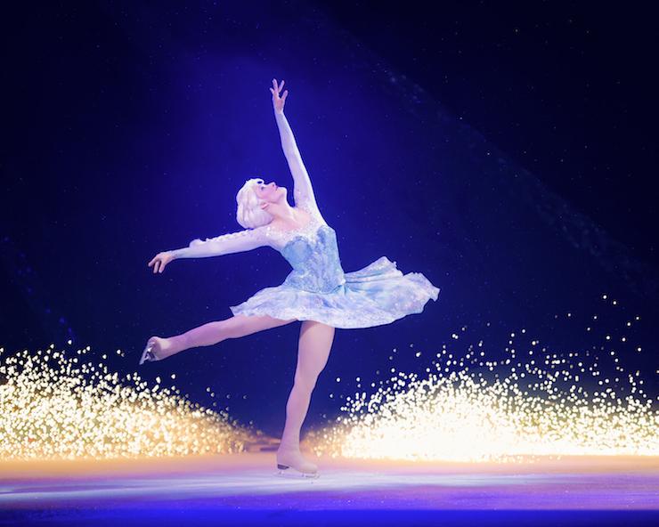 Elsa, Disney on Ice. Copyright Disney.