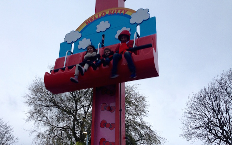 Hello Kitty Hopper ride, Drusillas Park. Copyright Sharmeen Ziauddin