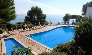 Swimming pools at Hotel Silken Park San Jorge. Copyright Gretta Schifano