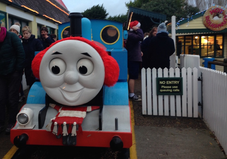 Thomas the Tank Engine, Drusillas Park. Copyright Sharmeen Ziauddin