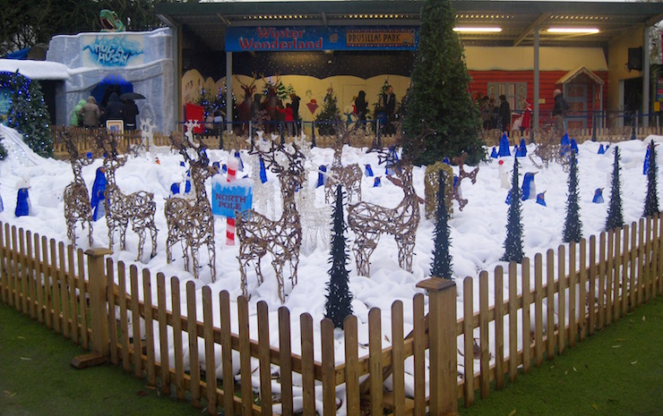 Winter Wonderland, Drusillas Park. Copyright Sharmeen Ziauddin