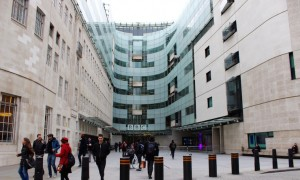 BBC Broadcsting House, London. Copyright Gretta Schifano