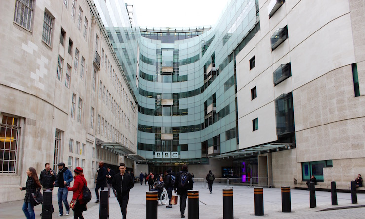 BBC Broadcsting House, London. Copyright Gretta Schifano