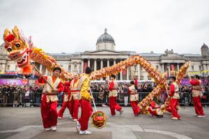 Chinese New Year celebrations, London. Copyright Ben Miller Cole