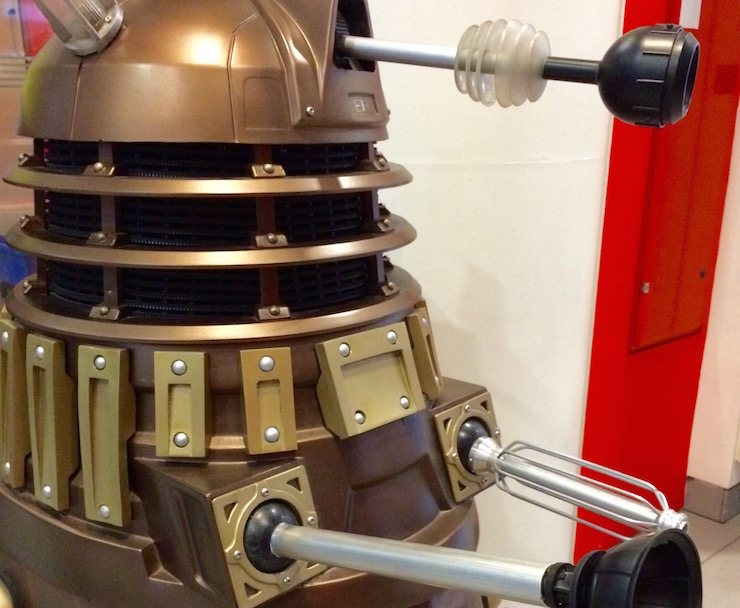 Dalek, BBC Broadcasting House. Copyright Gretta Schifano